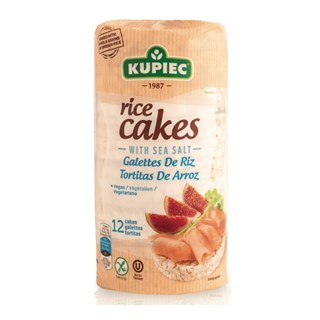 Kupiec Rice Cakes With Sea Salt 120 gr