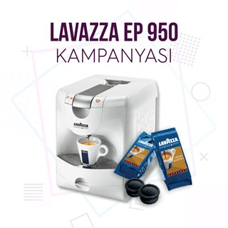 Lavazza Espresso Point EP 950 Kampanyası